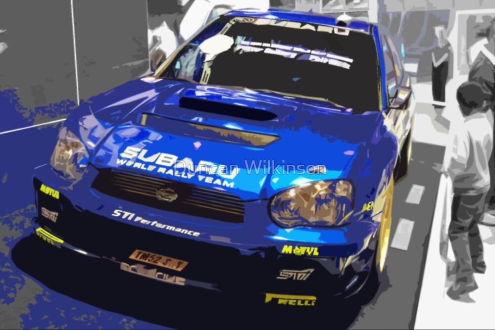 Rally Car 3 by Duncan Wilkinson