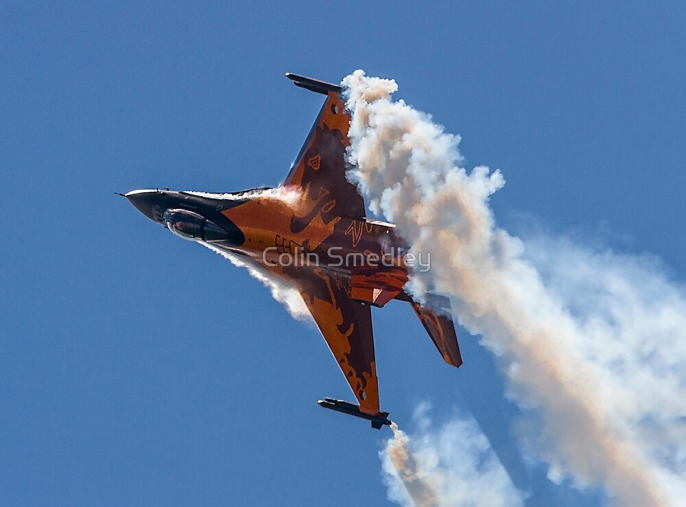 Dutch F-16 Solo Demonstration by Colin Smedley