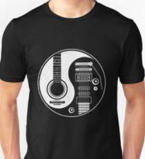 YIN YANG OF GUITAR Unisex T-Shirt