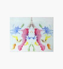 Psychology, Inkblot test, tenth blot, Rorschach, inkblot test Art Board