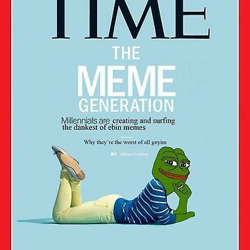 pepe the frog Time magazine by styleforever
