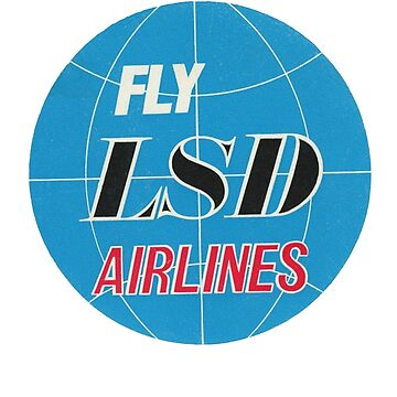 LSD Airlines by vintagegraphics
