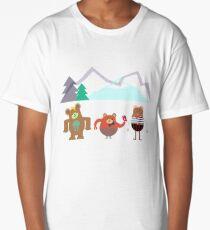 three little bears Long T-Shirt