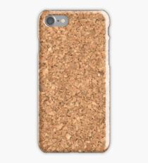 Fake cork iPhone Case/Skin