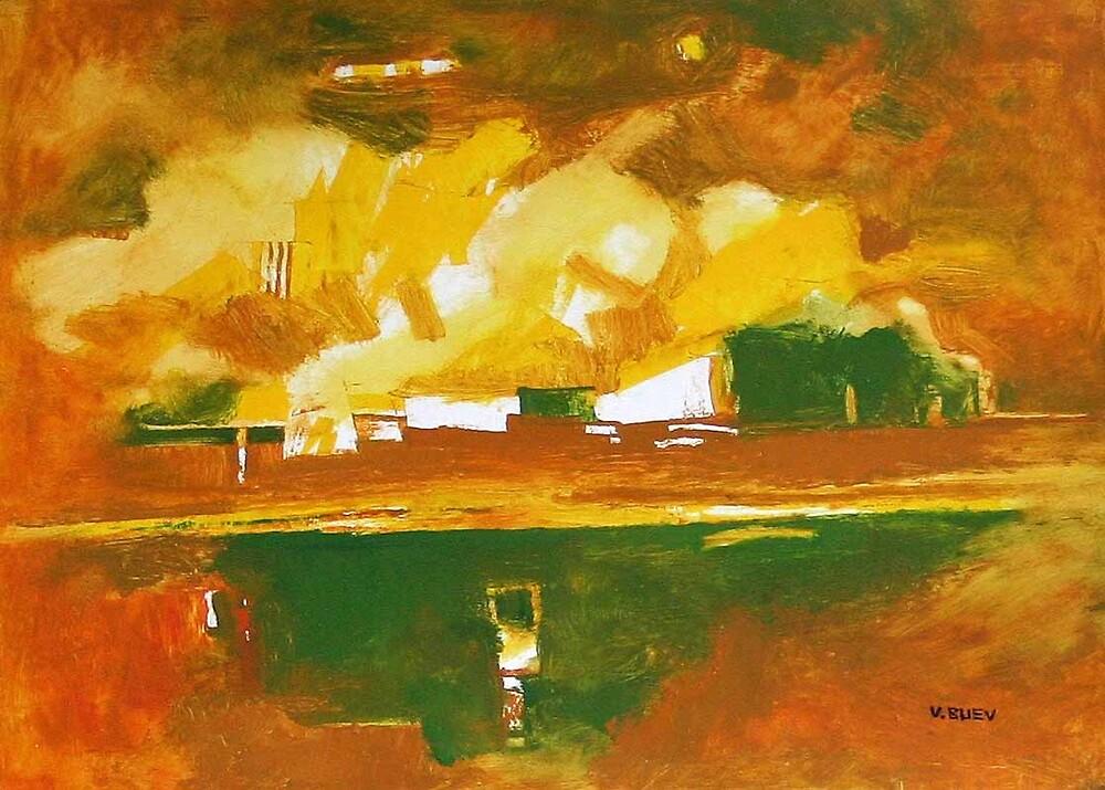 landscape 4 by Valeriu Buev