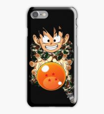Goten X Camo iPhone Case/Skin