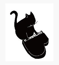 Funny Cat Playing Small Piano Keyboard Music Gift Photographic Print