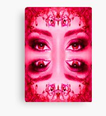 Red Eyes Canvas Print