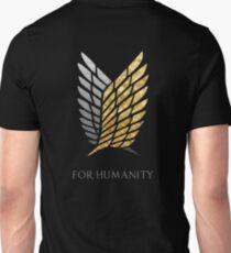 Survey Corps Gold Silver Unisex T-Shirt