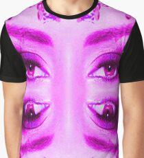 Purple Vision Graphic T-Shirt