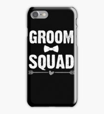 Groom Squad iPhone Case/Skin