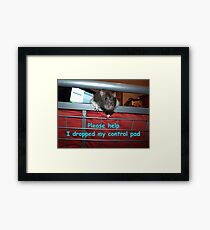 gamer rat Framed Print
