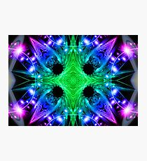 Alien Snowflake Photographic Print