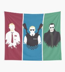 Cornetto Trilogy Wall Tapestry