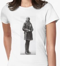 Amelia Earhart 1 Womens Fitted T-Shirt