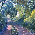 Hockney's Tunnel of Trees by Glenn Marshall