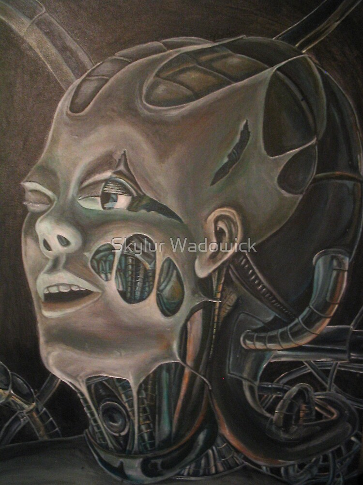 The Machine's facade by Skylur Wadowick