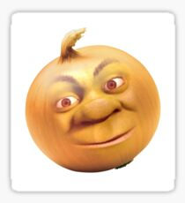 Shrek Onion Sticker