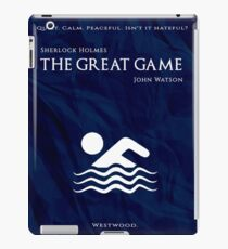 BBC Sherlock - The Great Game iPad Case/Skin