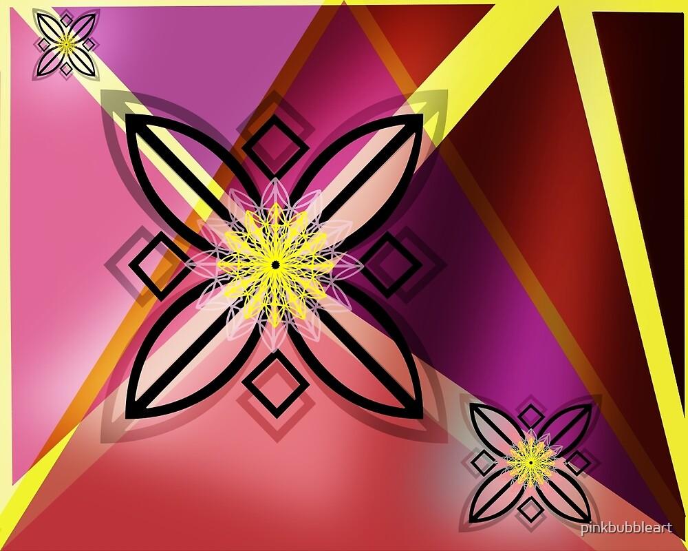 Geometric Bliss by pinkbubbleart
