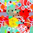 Abstract art MEXICO LINDO by rupydetequila