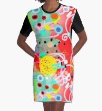 Abstract art MEXICO LINDO Graphic T-Shirt Dress