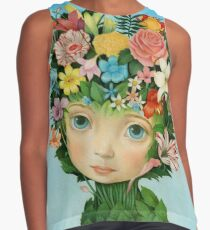 The Languaje of Flowers by Raul Guerra Contrast Tank