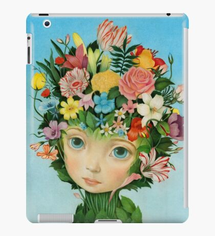 The Languaje of Flowers by Raul Guerra iPad Case/Skin