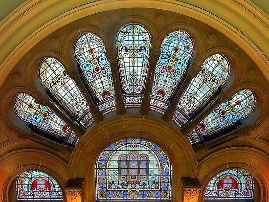1450 Circular Window by Hans Kawitzki
