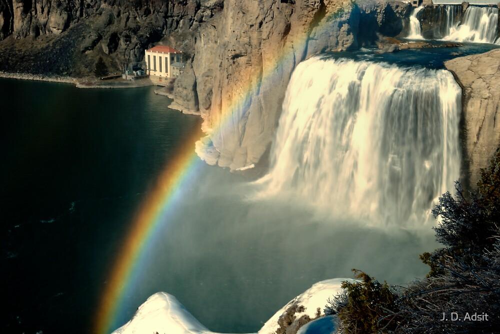 Rainbow and Mist  by J. D. Adsit