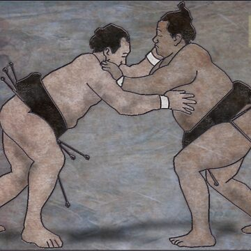 Sumo Wrestlers by mconnor