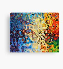Z - Generative Art Canvas Print