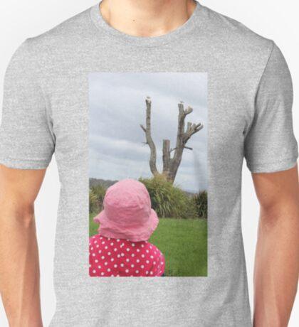 Baby & the Bird Tree T-Shirt