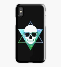 GEEKY SKULL  iPhone Case