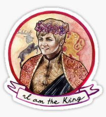 I am the King Sticker