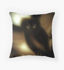 Midnight ,,,    Jacqueline Mcculloch Throw Pillow