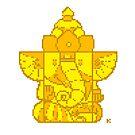 Ganesha Pixel Art by artkarthik