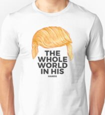 Trump Talking Hair: Tiny Hands T-Shirt