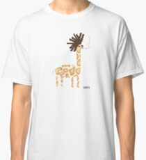 Girasta - Giraffe with a plus Classic T-Shirt