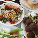 Hummus and falafel  by PhotoStock-Isra