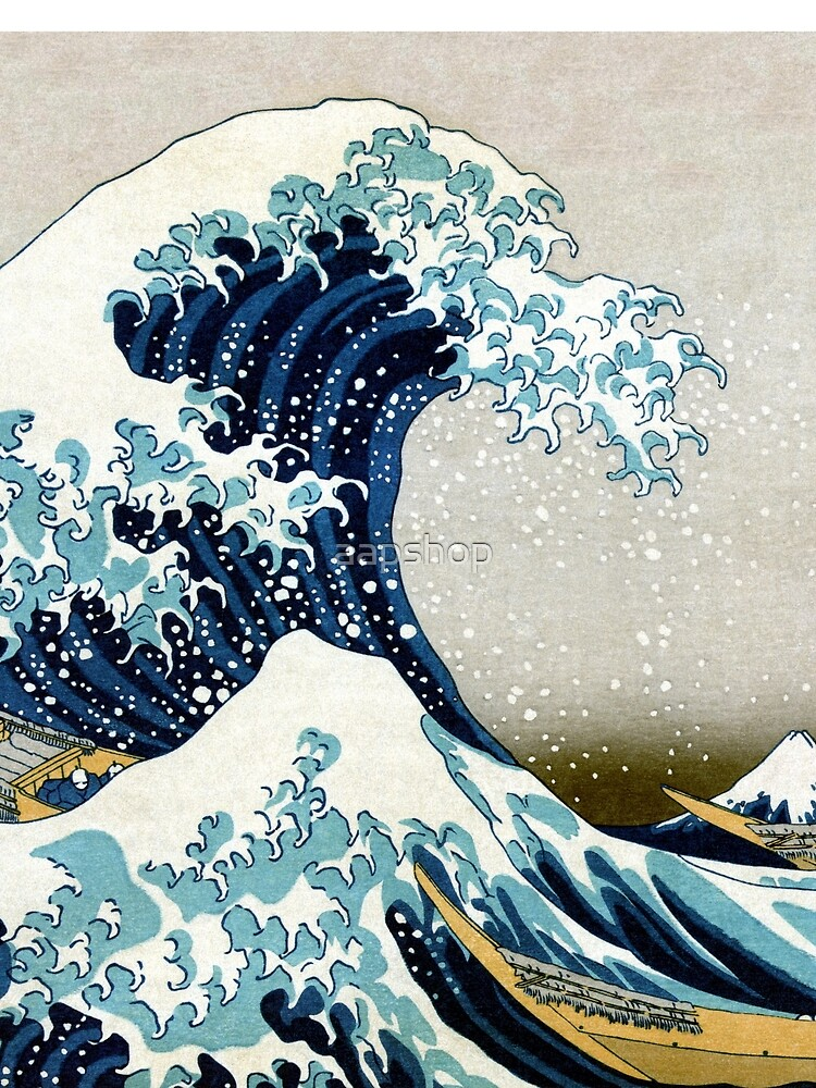 Quot The Great Wave Famous Japanese Artwork Quot T Shirt By