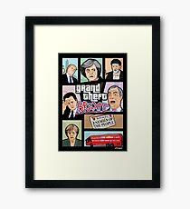 GTA: Brexit Framed Print