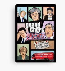 GTA: Brexit Canvas Print