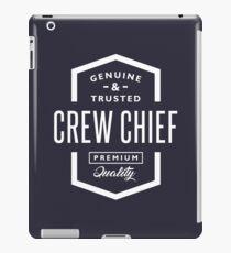 Crew Chief iPad Case/Skin
