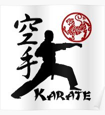 Pósters Karate Redbubble