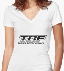 TRF Women's Fitted V-Neck T-Shirt
