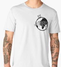 #MERKY GLOBE - STORMZY WHITE Men's Premium T-Shirt