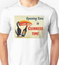 Guinness Vintage Beer Ad Unisex T-Shirt