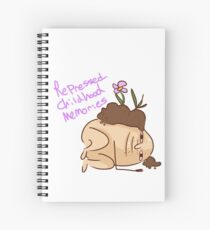 Repressed Childhood Memories Spiral Notebook