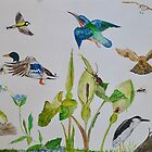 COME FLY WITH ME - acrylic  by Marilyn Grimble